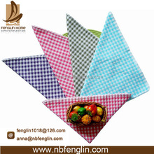 China Mainland Supplier Checkered Dish Cloth Scouring Pads