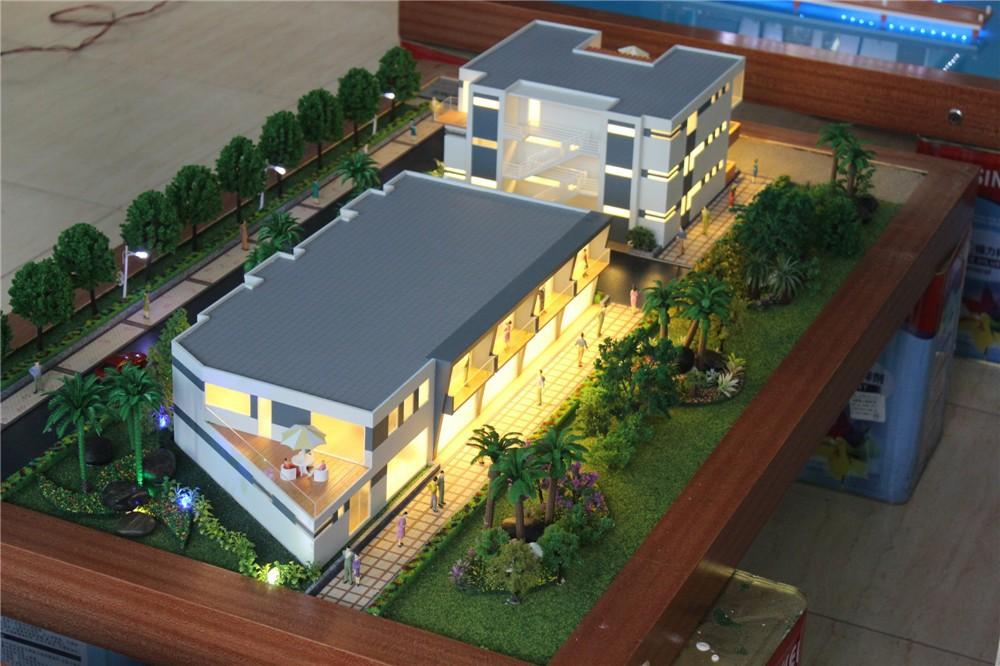 Amazing Villa Beautiful House Model , Scale Rendering 3d Architecture Model
