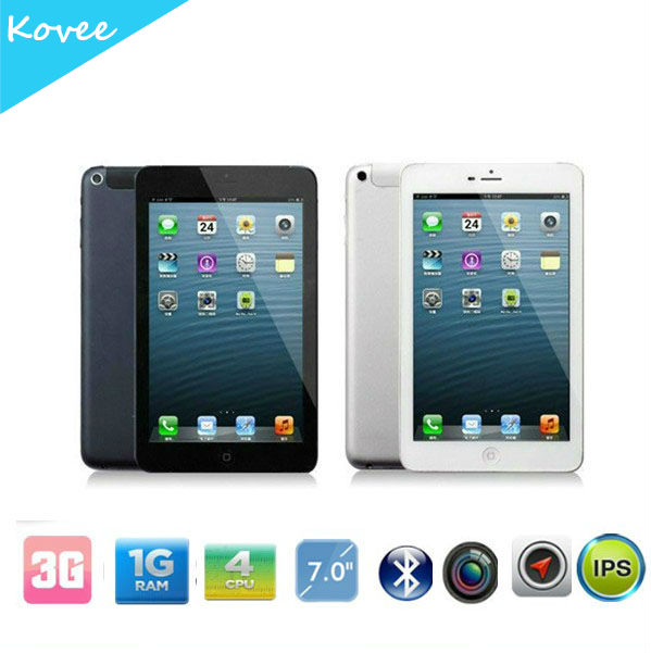 7 inch quad core tablet pc 3g sim card slot tablet pc MTK6589 quad core, IPS 1280*800 panel 3G/GPS/BT built-in