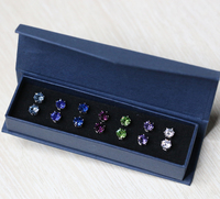 fashion jewelry wholesale Made With Crystal from Swarovski earrings for women box set earrings gold plated jewelry