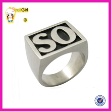 Classic <span class=keywords><strong>알파벳</strong></span> 문자발송 & # rings 925 sterling silver letter 링 jewelry 대 한 men