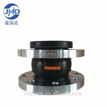 flexible single ball soft rubber bellows coupling pipe joint with flange