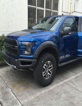 Electric truck cover for Ford F150 Raptor from Sunter Company with electric truck tail door handle