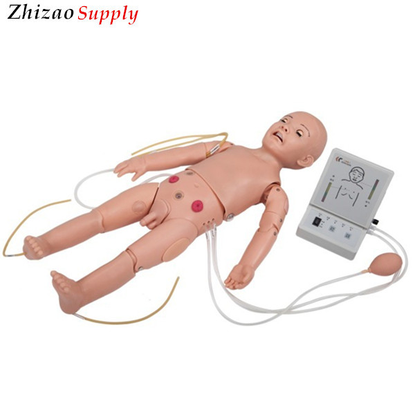 Advance pvc Full functional One year old Child Nursing Manikin