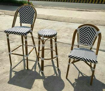 Faux Bamboo Cane Patio Chair Rattan Chairs As 6125