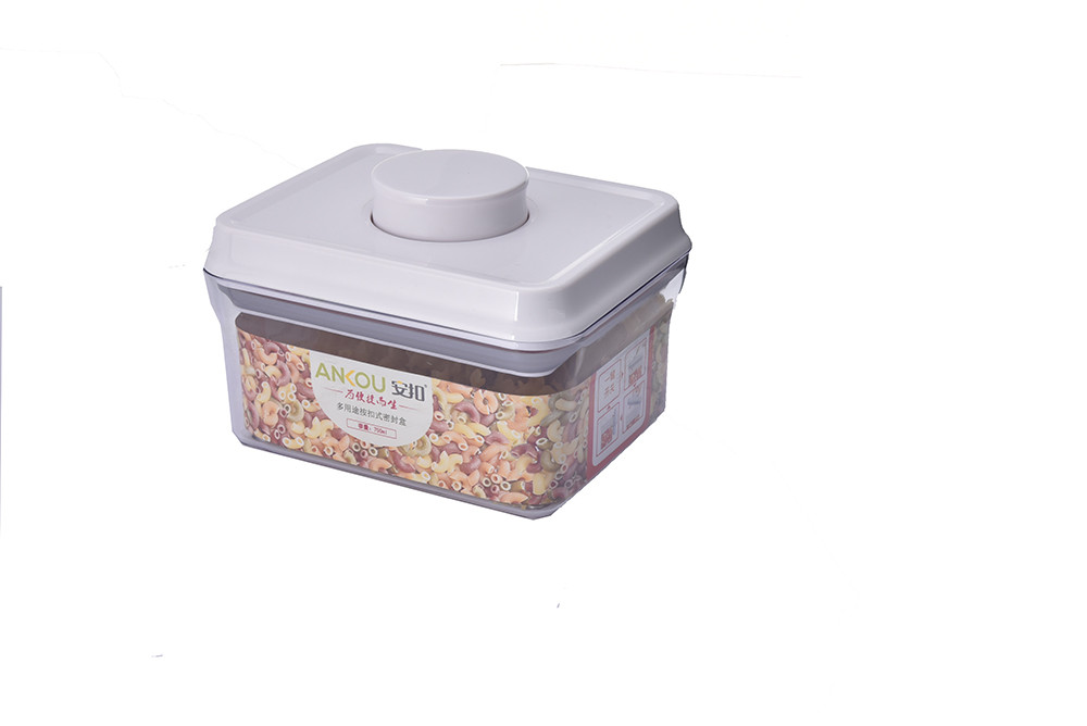 Best Price 1000ml Food Grade Bpa Free Rectangle Plastic Containers Air Storage Coles