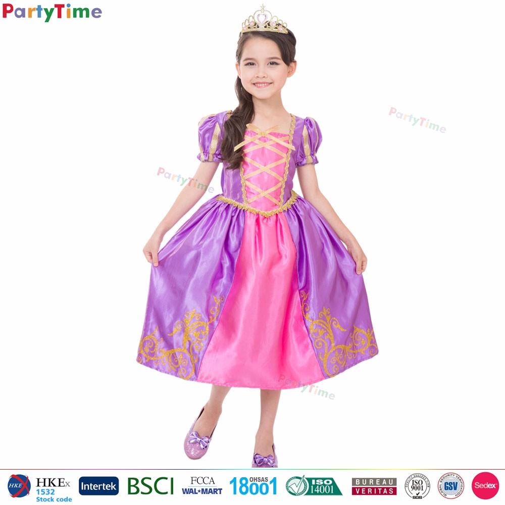 Púrpura Real Princesa Vestidos Para Niñas De 10 Años Disfraces Baile ...