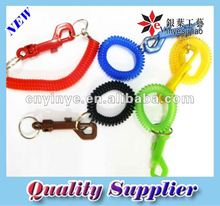 Plastic Coil Spring Key Chain
