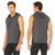 men's hoodies & sweatshirts zipper pockets Sleeveless HOODED VEST bodybuilding hoodies men custom print