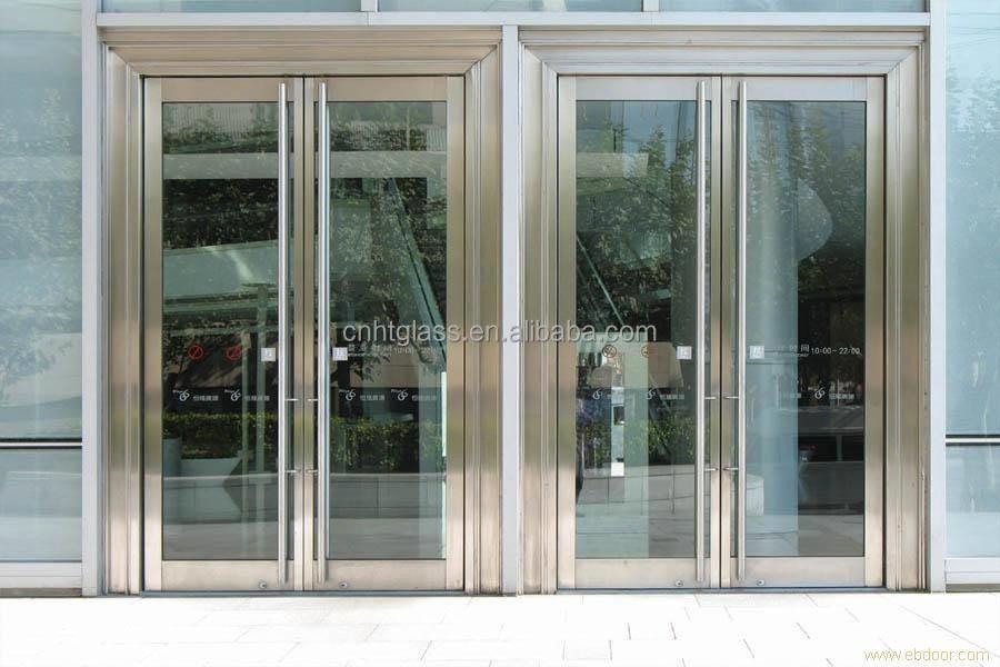 Puertas De Aluminio Con Cristal Para Exterior. Metalcar Aberturas De ...
