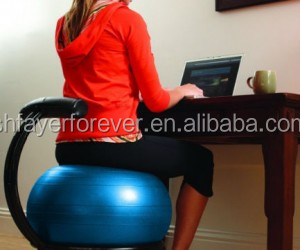 Office chair replacement 2000lbs static strength exercise stability ball with pump buy - Replacing office chair with exercise ball ...
