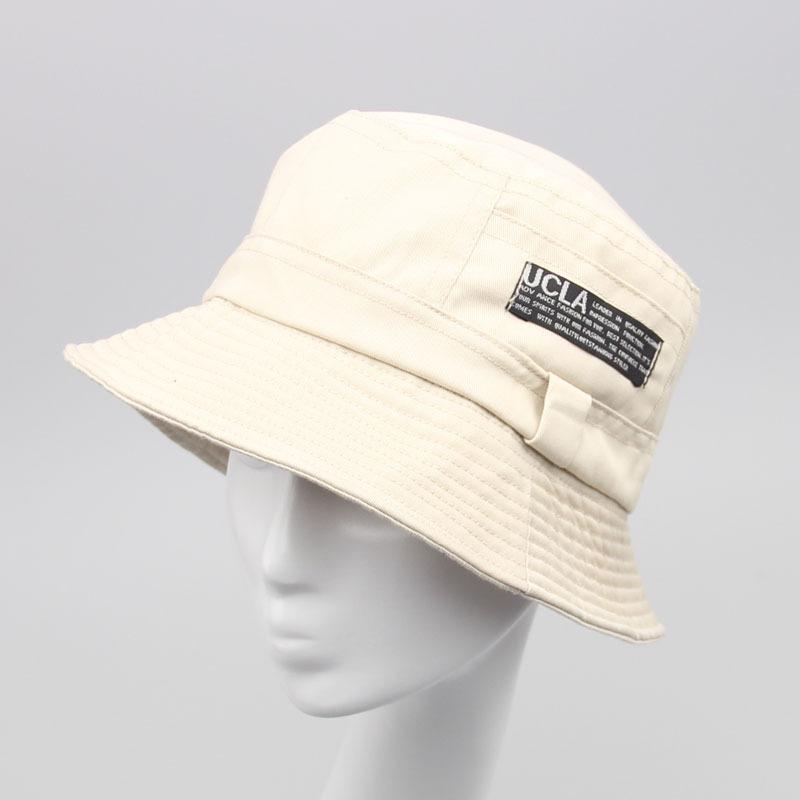 f02b33499384 Moda hombres y mujeres sólidos pesca cubo sombreros verano Floppy sol  sombrero tapas planas 9 colores para elegir