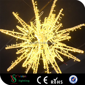 flash led light star ip65 customized outdoor christmas hanging flash star light