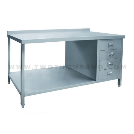 Tt Bc322e 2 Ties With Drawers Stainless