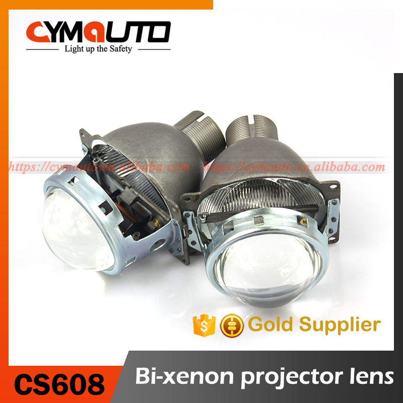 Q5 xenon D2S kit projector with LED angel eyes signal projector lens headlights