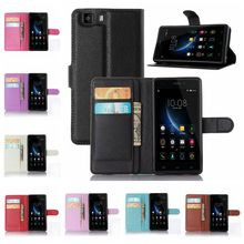 OWNEST Luxury Wallet Flip Cover Case For doogee x5 case Cell Phone PU Case with Card Slot