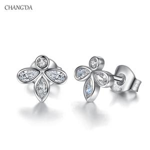 cf25399c0 Womens Silver Stud Earrings, Womens Silver Stud Earrings Suppliers and  Manufacturers at Alibaba.com