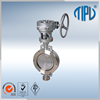 API Standard Pneumatic Actuator resilient seated butterfly valve with multiple functions