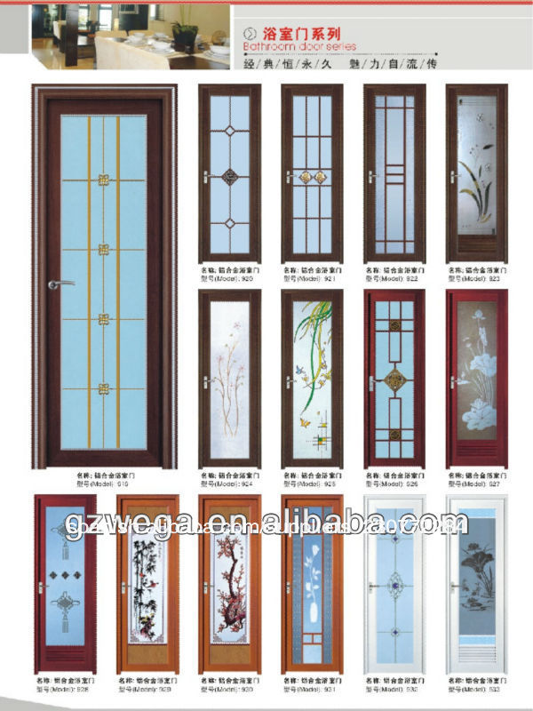Diversos tipos para opcional cuarto de ba o serie puerta for Puertas blancas con vidrio