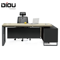 Office Furniture all MFC Melamine Boss Table Luxury Executive Office Desk