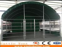 4*4m PVC sheep goat shed