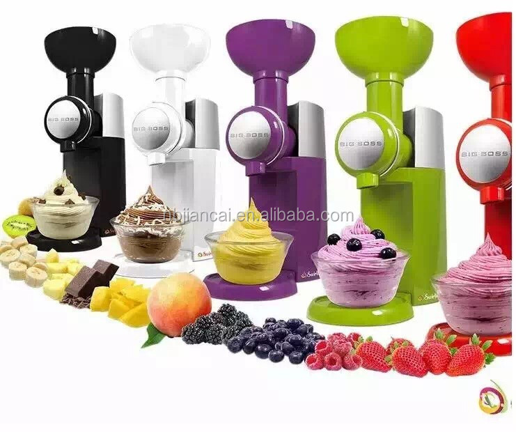 mini portable soft serve ice cream machine/ ice cream maker