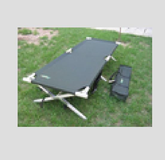 Militare outdoor vendita calda letto pieghevole a scomparsa ...