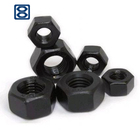 Heavy Nut Nuts And Bolts High Strength Steel Black Heavy Hex Nut And Bolt M12-M100