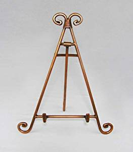 Easels, Decorative Easels from Easels by Amron, 10 Inches High (Copper)