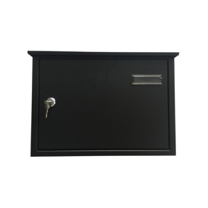 outdoor wall mounted steel metal mailbox
