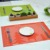 PVC Plastic Placemat Type Food Grade Kitchen Dining Table Mat