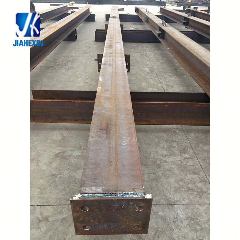 Welding Steel Structure Pre Galvanized Weld Steel Column