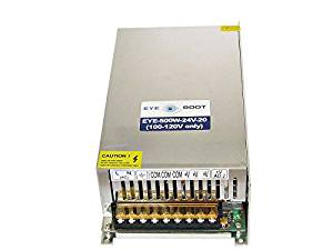 Eyeboot 24V 500W DC Universal Regulated Switching Power Supply AC to DC 20.8 Amps
