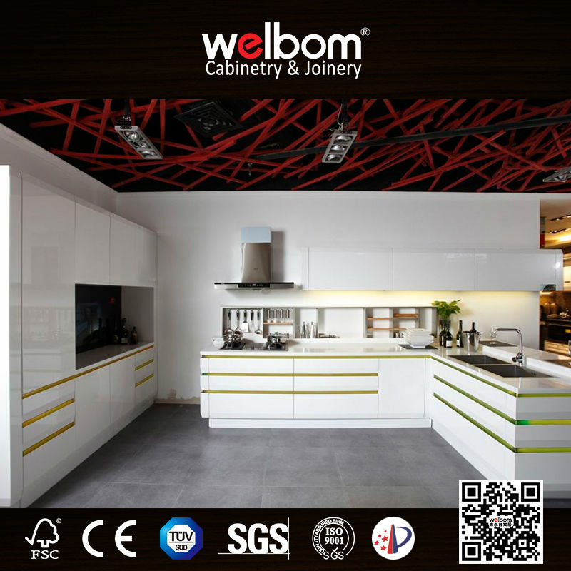 CDA and 3D Lacquer Glossing Kitchens Designs