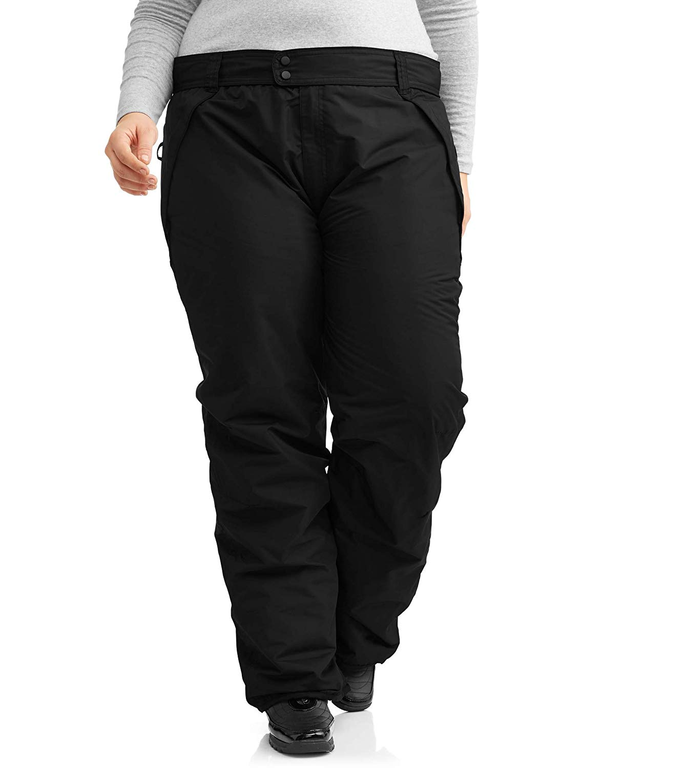 17750e7726c Get Quotations · Iceburg Women s Plus Insulated Pull-On Ski Pants Size XL