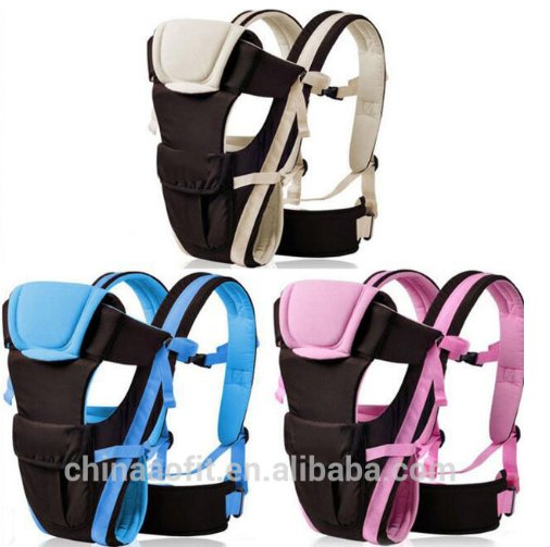 Multifunctional front and back baby carrying product,Ergonomic design kangaroo baby carrier,baby sling bag