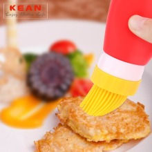 Safety heat-resistant woman kitchen silicone barbeque brush
