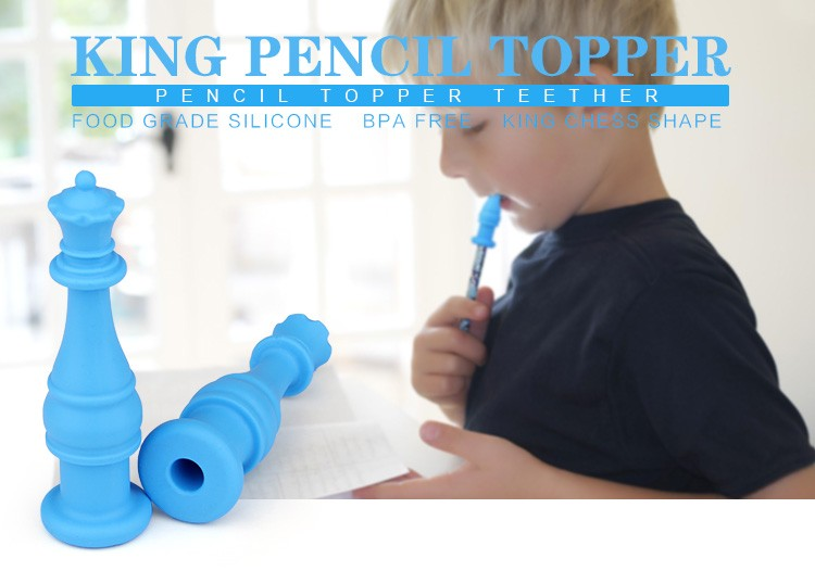 Autism Chew Toys : New arrived king pencil toppper oral sensory toys