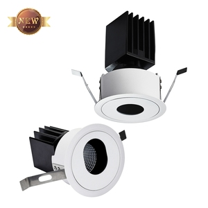 HH21A Surface Mounted Beam Spot Wash 2.5In 1 Moving Head Light 4X4 Profile 7w Floor Garden Pin LOGO Projection LED Spotlight