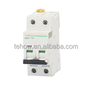 TEHOW HOT SELL mcb 1P 2P 3P 4P 12V DC circuit breaker