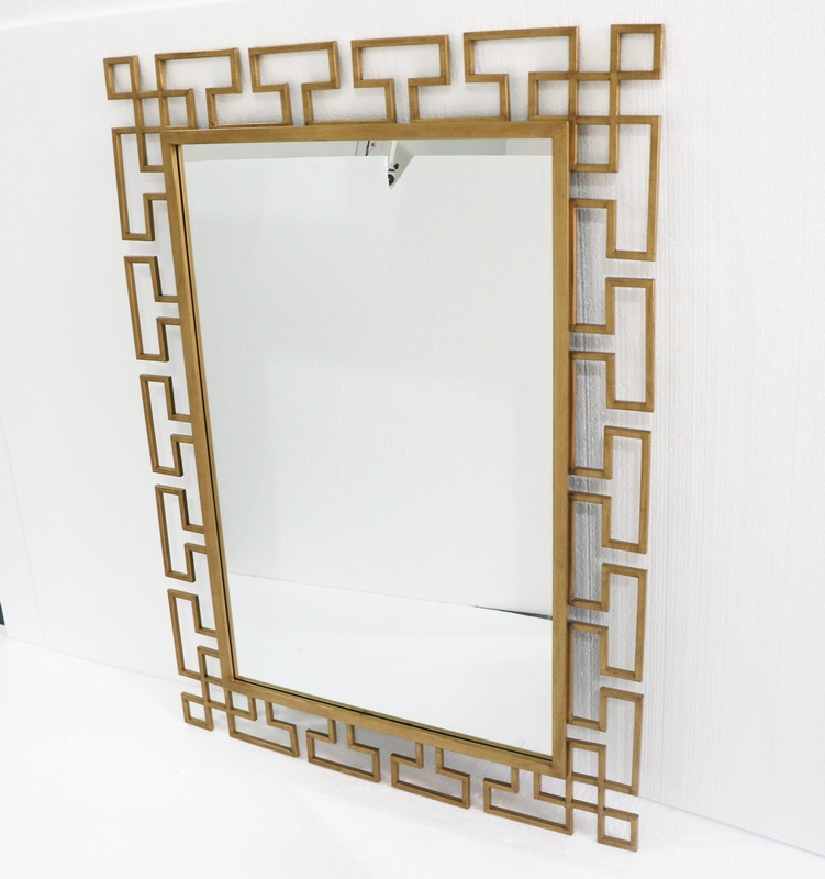 Hallway Mirrors On The Wall,Rose Gold Compact Floor To Ceiling Mirror