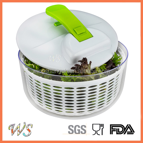 WS-VS007 Hot Sale Quick Dry Salad Spinner Vegetable Tools Salad Food Mixer Salad Spinner