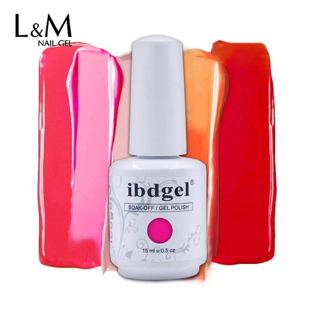 Newest beauty easy soak off uv and LED nails gel polish