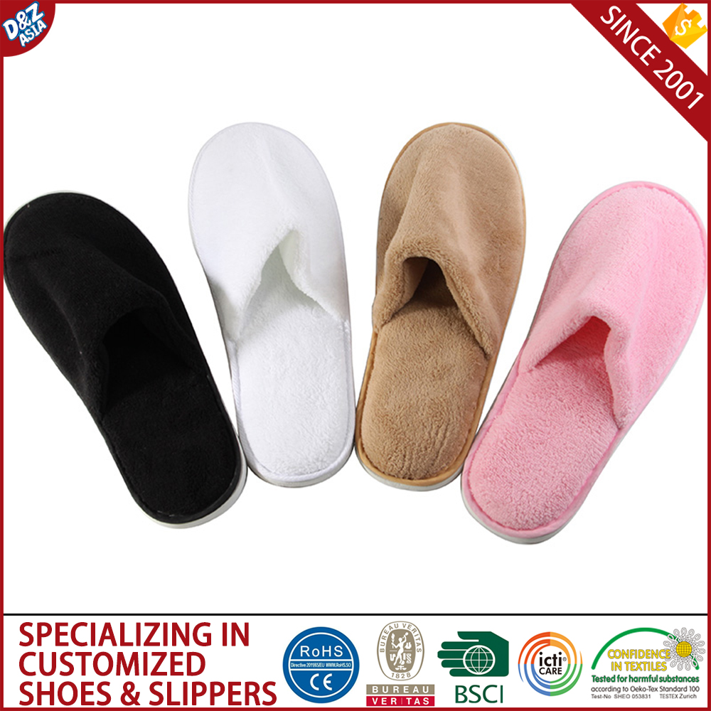Spa salons clubs household disposable slippers Hotel slippers hospital disposable hotel slipper