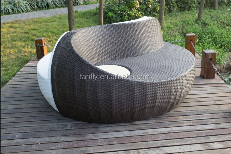 Outdoor Lounge Chair Yin Yang Rattan Furniture Buy Yin