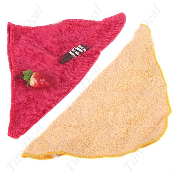 Hotlink  Heart-Shaped Delicious Cake-Like Fragrant Towel Washcloth with Fake Strawberry & Chocolate Bar 2pcs Assorted Color