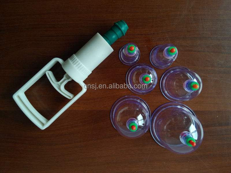 2016 Hot Sale Best Vacuum Cupping Acupuncture Cupping Set