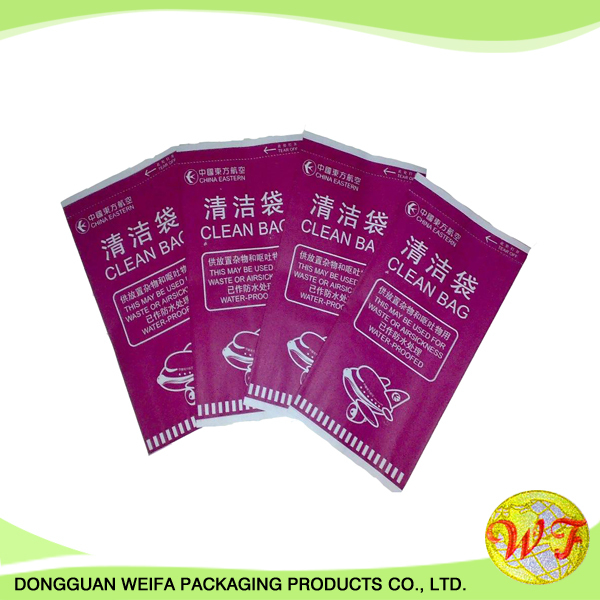 Dongguan Weifa Disposable Airplane Vomit Bag In Cheap Price