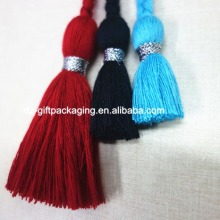 high quality handmade cotton tassel with long braid