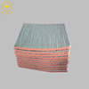 Fire resistant material aluminum foil backed foam insulation